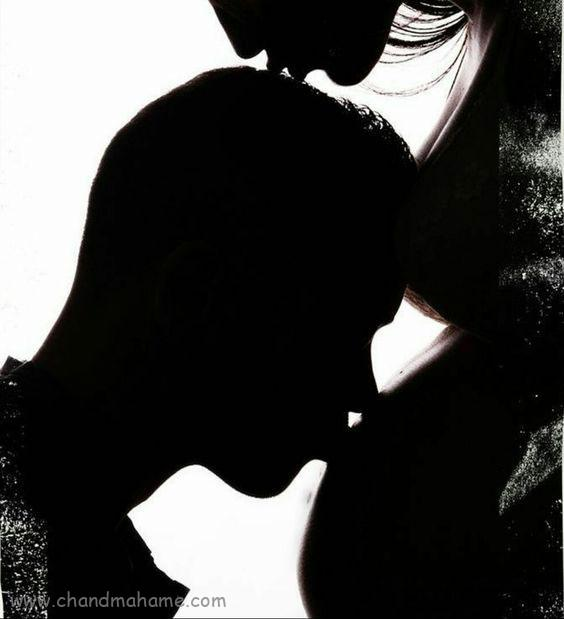 ژست عکس بارداری با همسر مدل سایه - چندماهمه