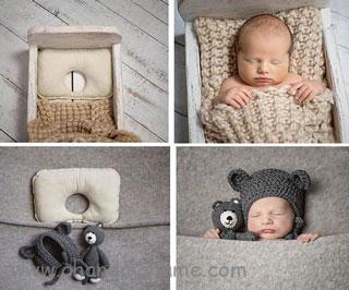 درست کردن مبل برای عکس خانگی نوزاد - چندماهمه