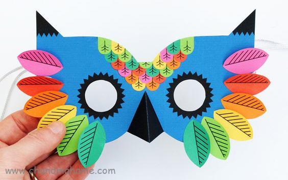 ساخت تم عکس کودک - ماسک کودکانه