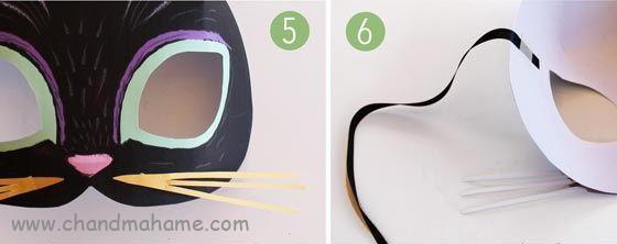 ساخت تم عکس کودک - ماسک کودکانه گربه ای