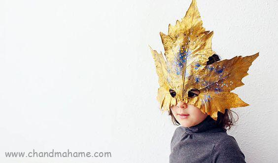 ساخت تم عکس کودک - ماسک کودکانه پاییزی
