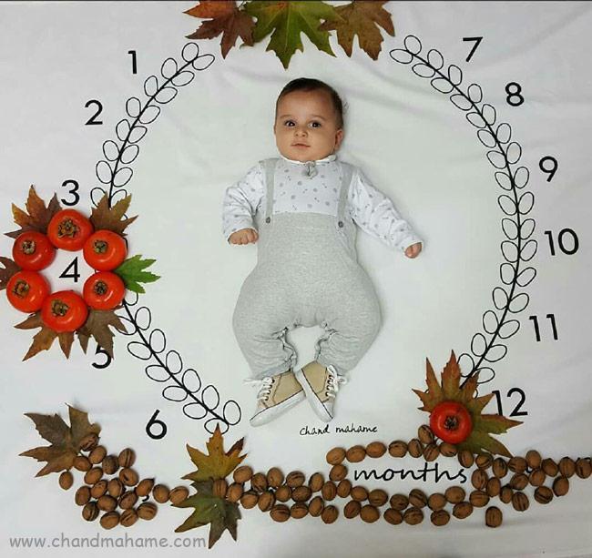 مدل عکس نوزاد برای شب یلدا
