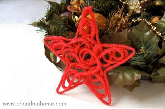 روش درست کردن ستاره تزیینی کریسمس - تم عکاسی چندماهمه