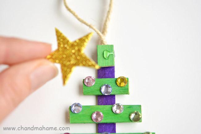 آموزش ساخت کاردستی کاج کریسمس برای عکاسی در خانه