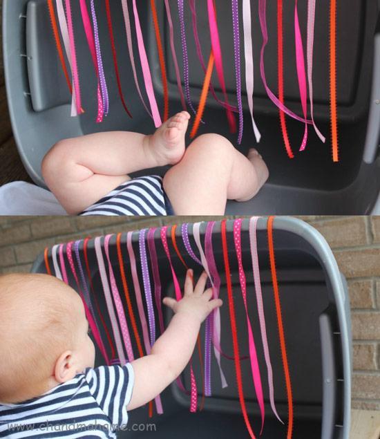 آموزش بازی با نوزاد 6 ماهه و افزاریش مهارت حرکتی - چندماهمه