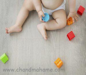 آموزش بازی با نوزاد 6 ماهه و افزایش توانمندی - چندماهمه
