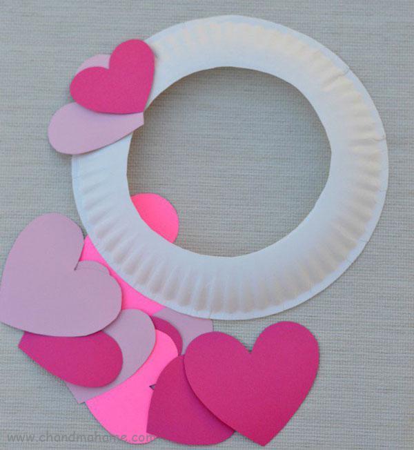 عکس درست کردن تزیینات ولنتاین مدل حلقه قلبی - چندماهمه
