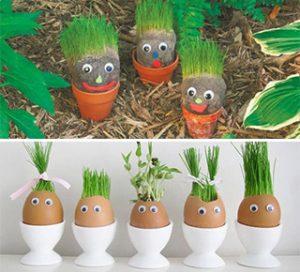 آموزش کاشت سبزه هفت سین عروسکی- چند ماهمه