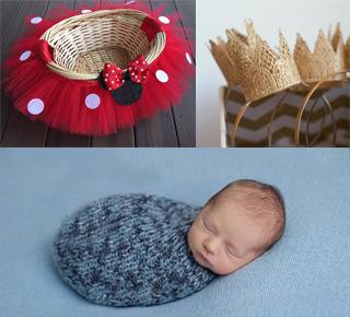 آموزش درست کردن تم عکس خانگی نوزاد - چندماهمه