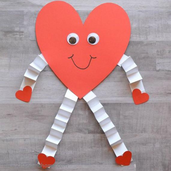 آموزش ساخت قلب کاغذی برای تم ولنتاین - چندماهمه
