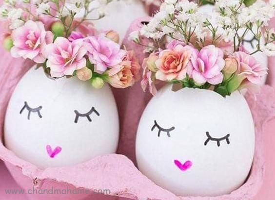 عکس تخم مرغ رنگی عید نوروز -