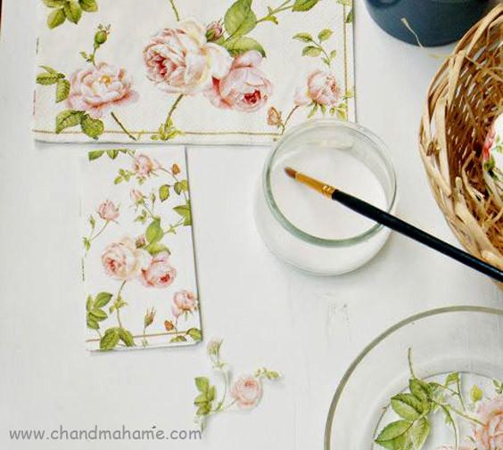 آموزش درست کردن تخم مرغ رنگی با دستمال کاغذی - چندماهمه