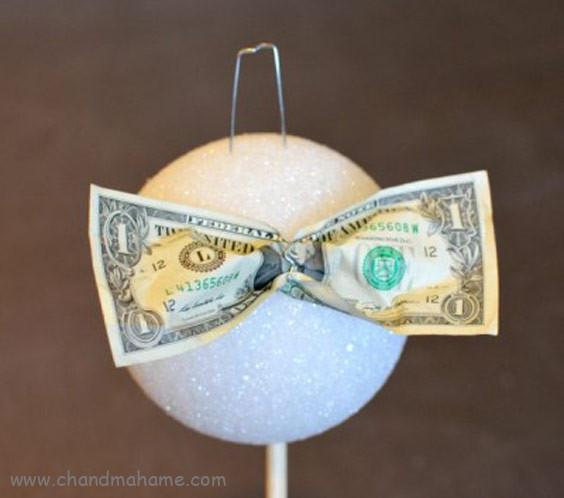 آموزش تزیین پول عیدی به شکل گل - چندماهمه