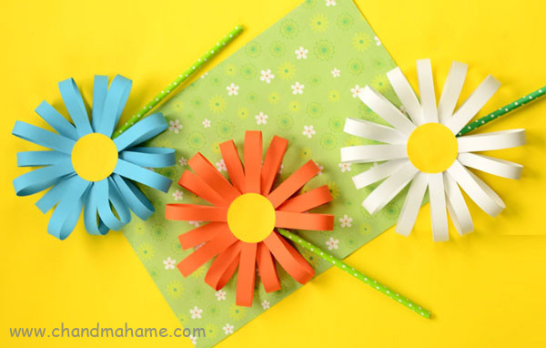 آموزش ساخت گل کاغذی بزرگ - چندماهمه