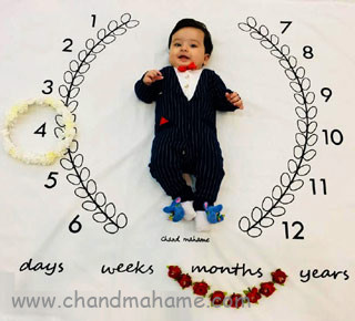 عکس نوزاد پسر - چندماهمه