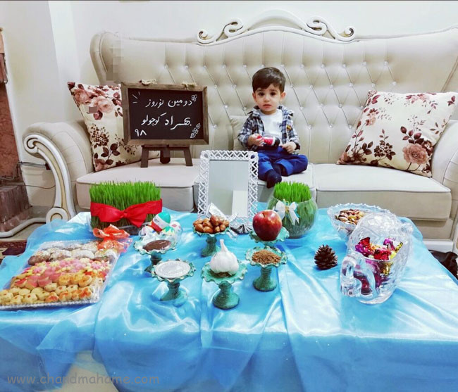 مدل عکس های مناسبتی از نوزاد پسر نوروز - چندماهمه