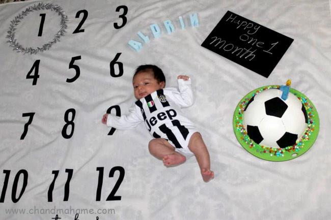 مدل عکس از نوزاد پسر اسپرت - چندماهمه