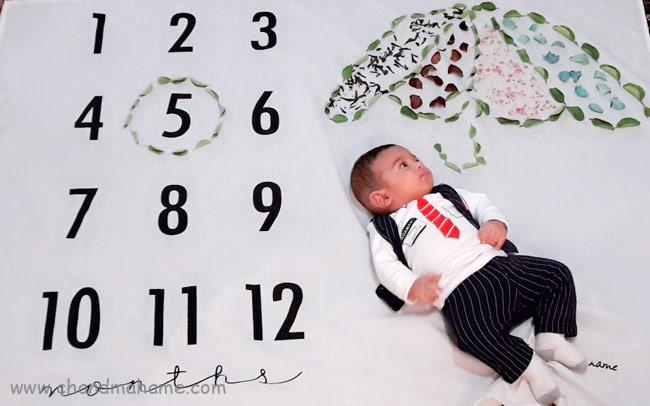 مدل عکس از نوزاد پسر - چندماهمه