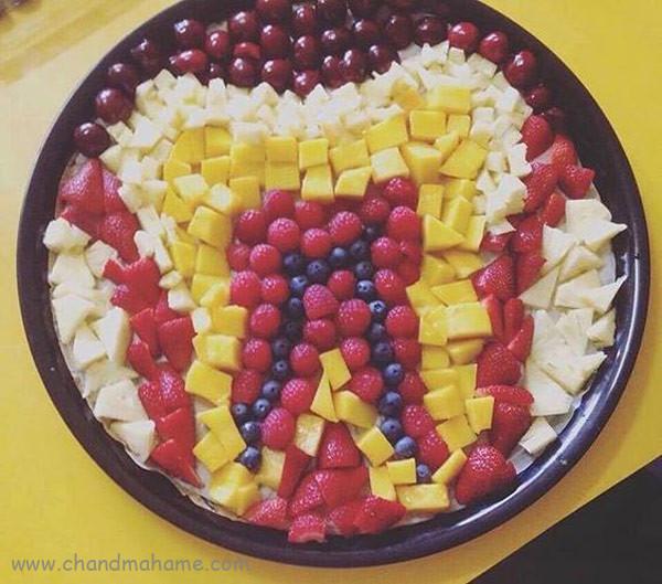مدل تزیین خوراکی برای جشن دندونی - چندماهمه