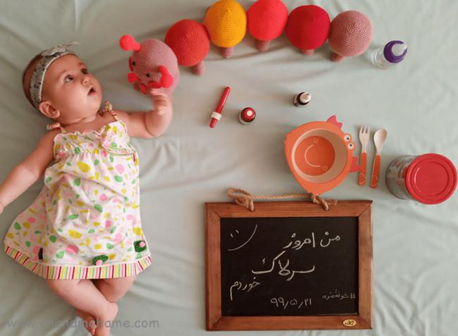 عکسهای نوزاد دختر