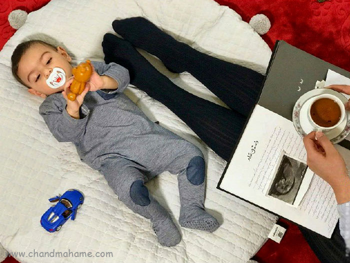 آلبوم خاطرات بارداری تا تولد نوزاد و 5 سالگی- چندماهمه