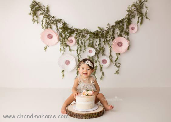 تزیینات جشن تولد با شاخه و برگ - چندماهمه