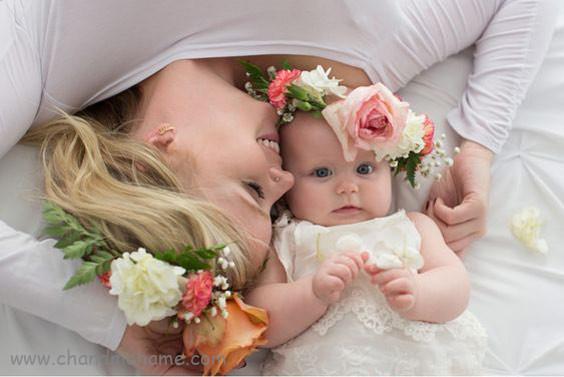 عکس پروفایل مادر دختر پدر