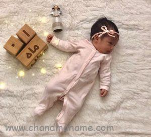 ایده عکاسی نوزاد یک ماهه - چندماهمه