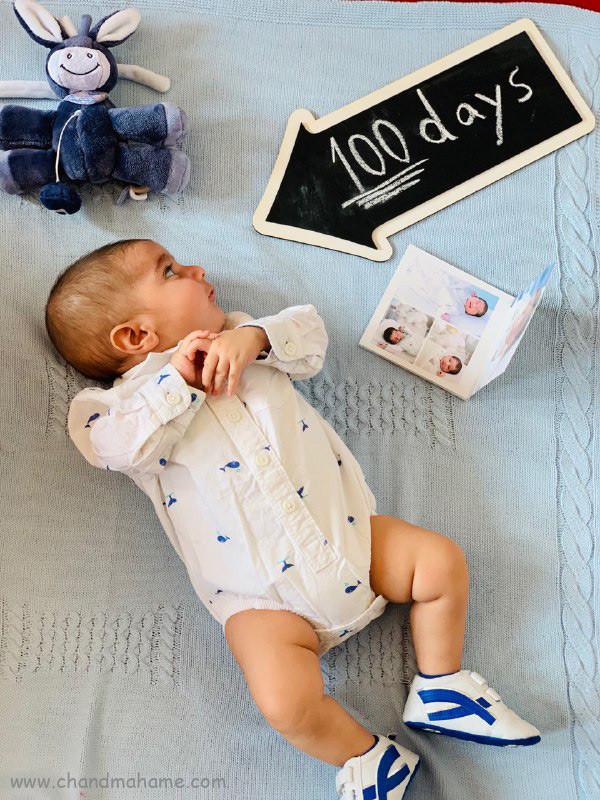 عکس روز شمار تولد نوزاد - چندماهمه