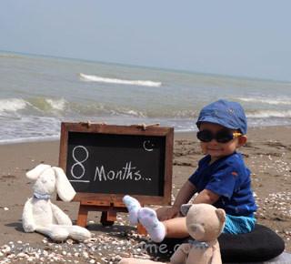 عکس نوزاد هشت ماهه - چندماهمه