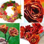 آموزش ساخت حلقه گل پاییزی - چندماهمه