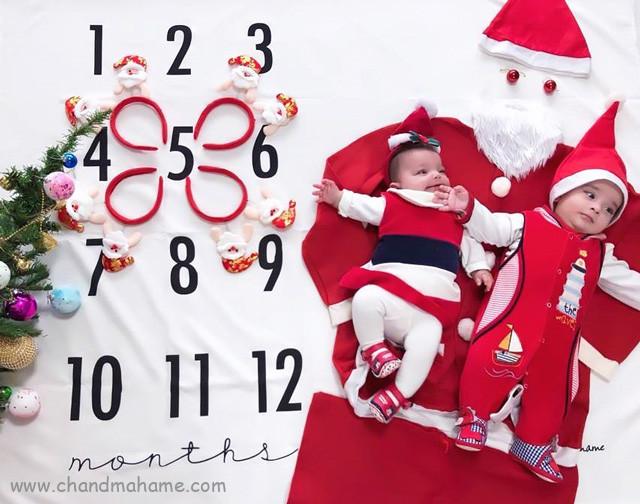 ایده عکس نوزاد در کریسمس