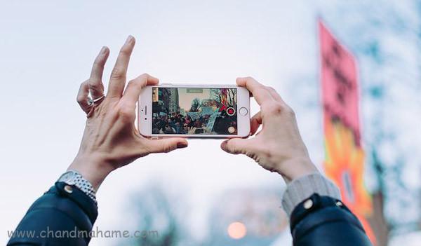 ترفند عکاسی با موبایل - چندماهمه