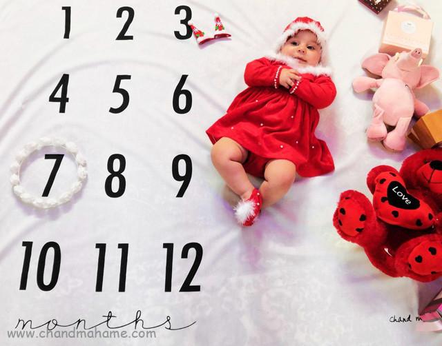 عکس کودک با تم کریسمس