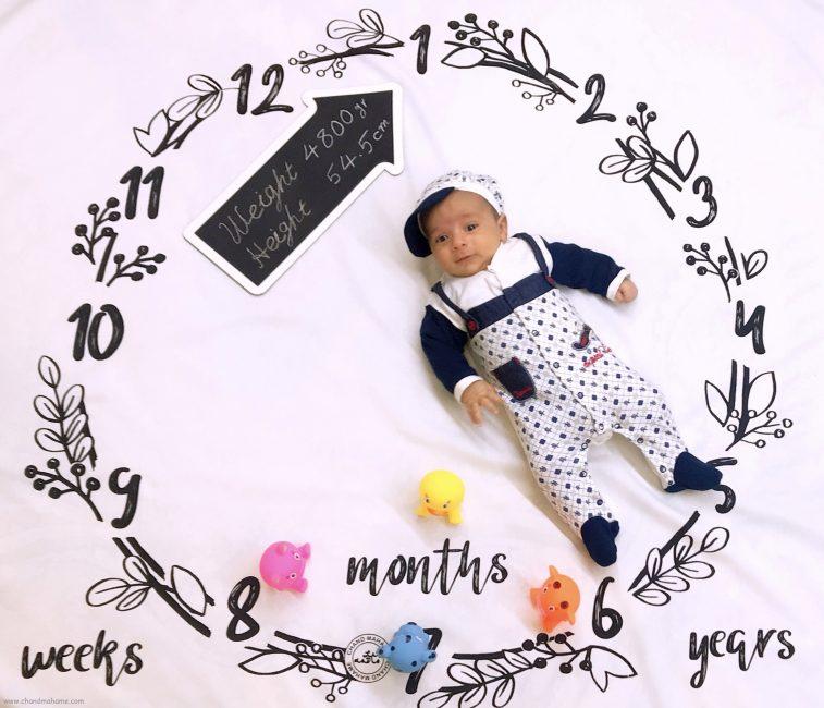 متن ماهگرد نوزاد یک ماهه - چندماهمه