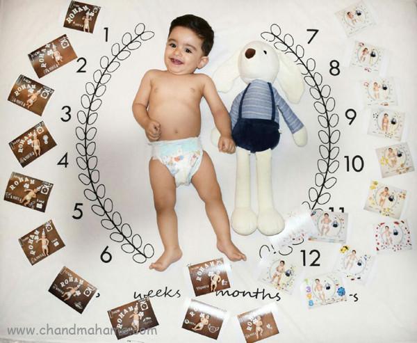 روند رشد نوزاد