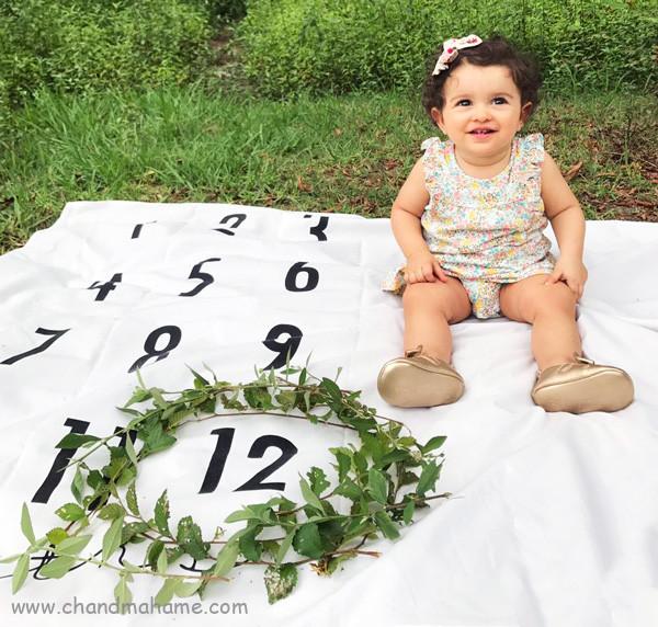 عکس فضا باز کودک یکساله