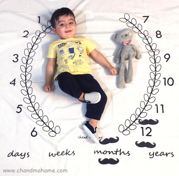 عکس 12 ماهگی کودک