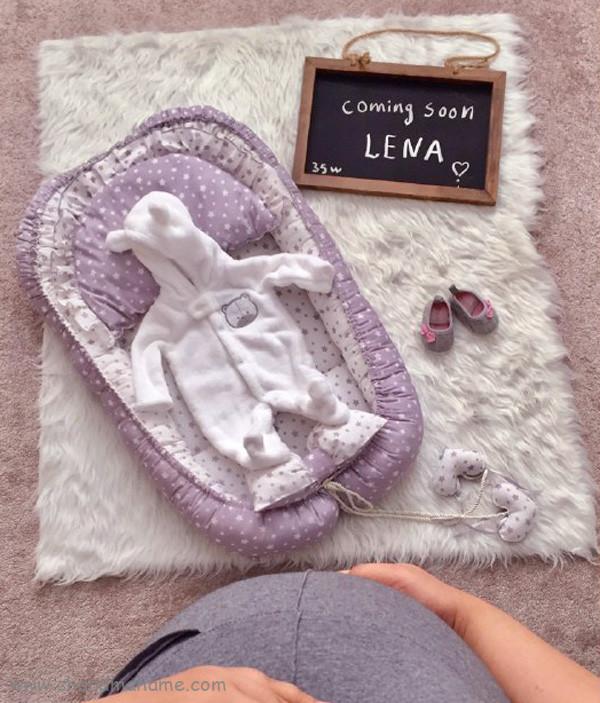 عکس بارداری با تخته سیاه