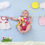 تم تابستانی برای عکاسی از نوزاد