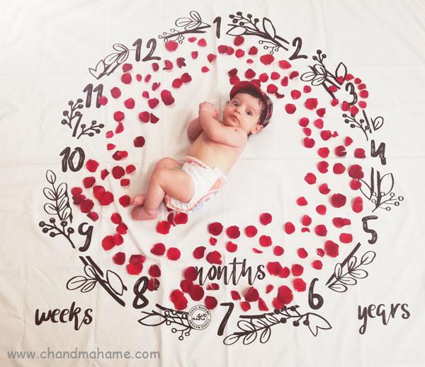 بهترین ایدههای عکس نوزاد با پارچههای عکاسی