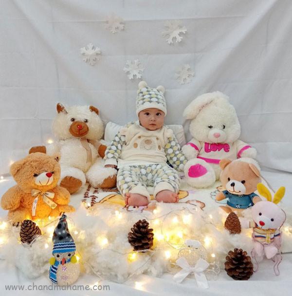 عکاسی در خانه از نوزاد