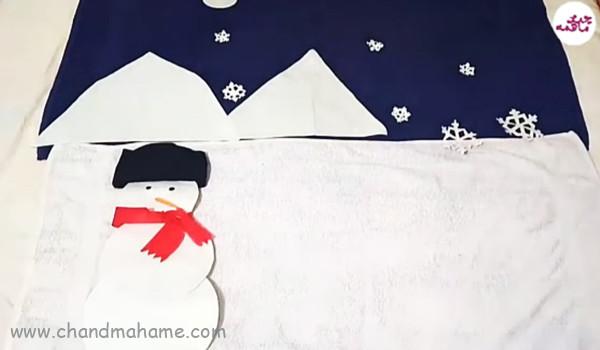 تم زمستانی خلاقانه