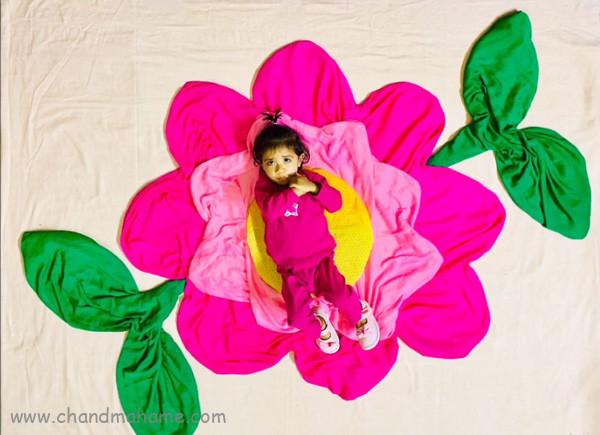 تم بهاری برای عکس نوزاد