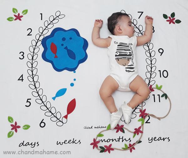 عکس بهاری نوزاد
