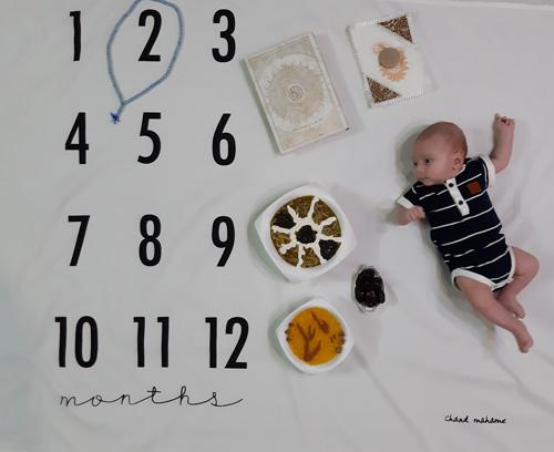 عکس ماه رمضان نوزاد