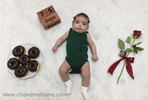 عکس نوزاد دو ماهه