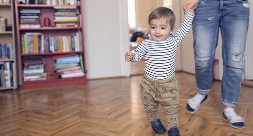 نوزاد ۱۱ ماهه شما: هفته ۴