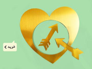 نشانگر ماهگرد قلب طلایی